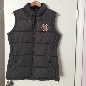 Madden Girl grey puffer vest!