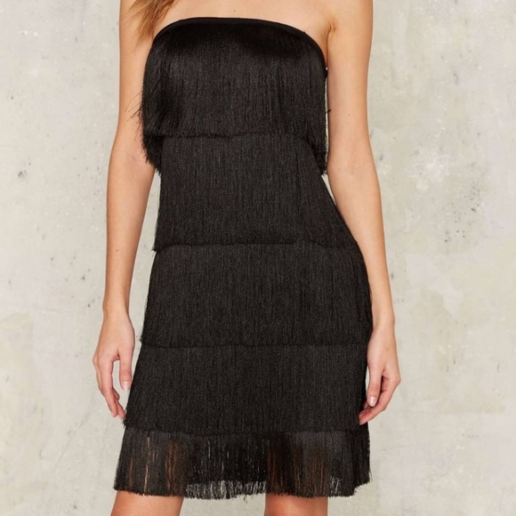 Nasty Gal Sway of Life Fringe Dress ✰ d01ceb6e9
