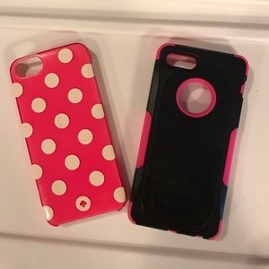 Kate spade and trident I phone cover