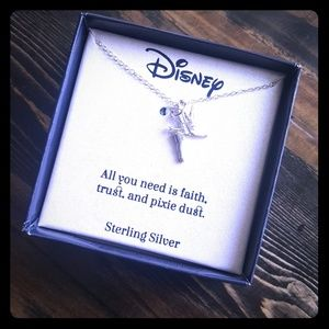 Disney Tinkerbelle Pixie Dust Sterling Silver Neck