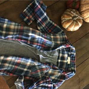 Cloth and stone flannel shirt