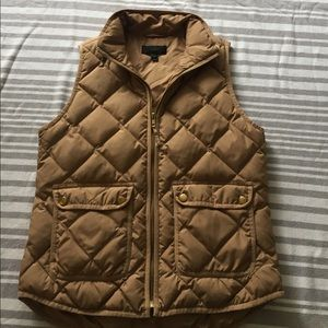 J. Crew Excursion down vest. Small
