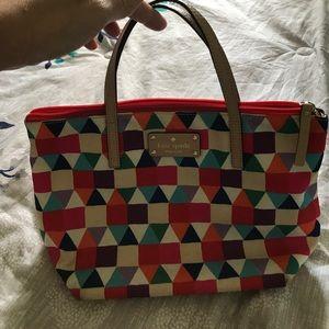 Kate Spade multicolor nylon bag