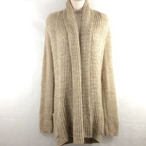 Pins & Needles Open Natural Weave Cardigan