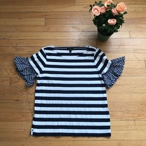 Striped and gingham shirt! J.Crew last season