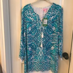 Lilly Pulitzer Ashby Tunic Size small NWT