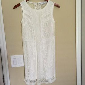 NWOT White Lace Dress size Small
