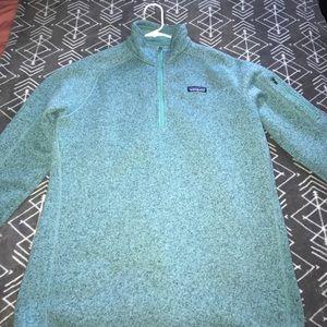 Patagonia knit 1/4 zip