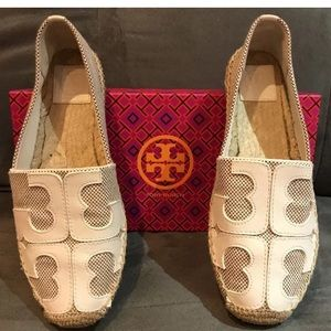 Tory Burch Lonnie espadrilles sized 8!