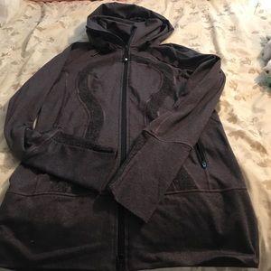 Navy lululemon zip hoodie