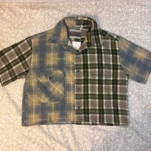 UO Urban Renewal Cropped Flannel