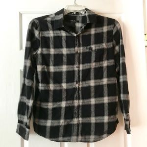 Forever 21 Button Up Flannel Shirt