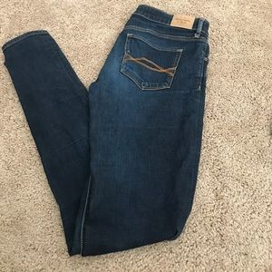 Abercrombie and Fitch Dark Skinny Jeans