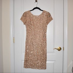 Adrianna Papel Sequin Dress