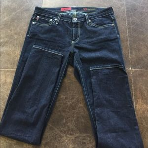 "AG ""the Stilt"" jeans, like new, size 28"