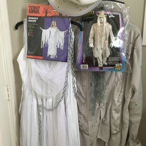 Other - Complete M/W Halloween Ghost Costumes