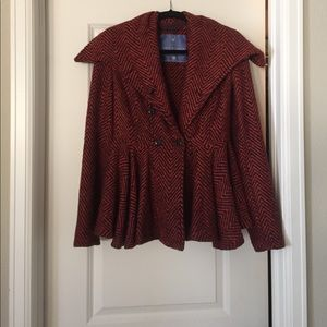 Free People wool thick jacket