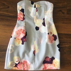 Cocktail strapless dress