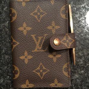 Vintage purse size notebook