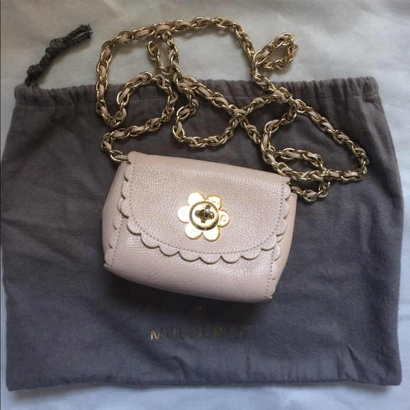 ce1127d86fc3 Mulberry cecily flower mini crossbody bag pink. M 59c29b52f0137d879d01498c