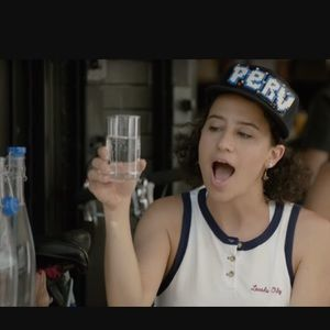 """As seen on Broad City """"Locals Only"""" crop tank top"""