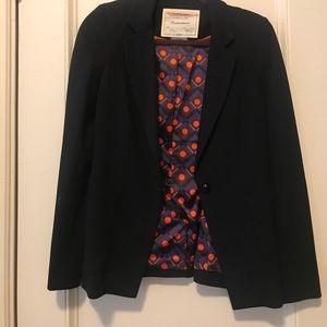 NWOT Black anthropologie blazer