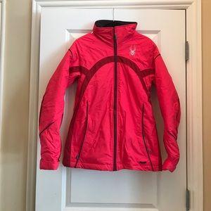 Spyder bright pink jacket
