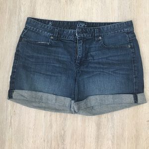 Loft Jean Shorts