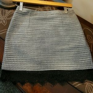 Topshop Black and White skirt size 4
