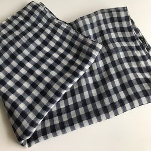 J.Crew Gingham Check Stole