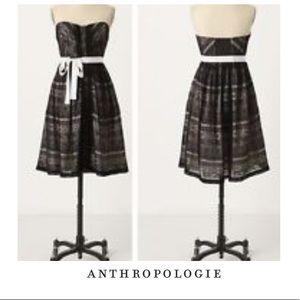 Anthropologie Moulinette Soeurs Black Lace Dress