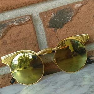 Gold Gianfranco Ferre Sunglasses