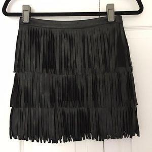 Divided by H&M Fringe Skirt