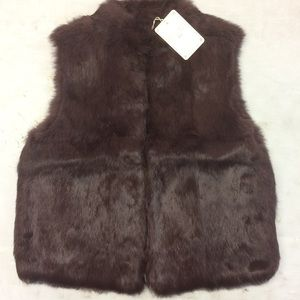 What Goes Around Comes Around Paige Fur Vest