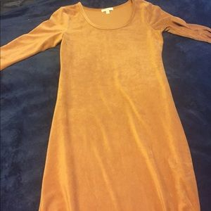 Corduroy dress! Burnt orange.