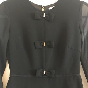 "Ted Baker Black ""Finna"" Dress"
