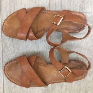 BC sandals size 8