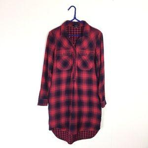 Madewell Daywalk Shirtdress in Albion Plaid XXS
