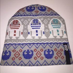 Star Wars R2D2 Fairisle Knit Beanie