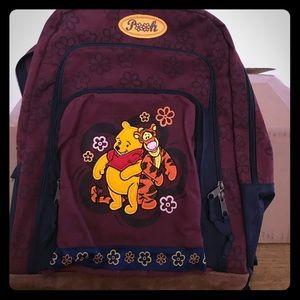 NWOT Disneys Winnie the Pooh Bookbag
