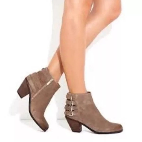 bf33af5dd649e6 Sam Edelman Lucca Suede Leather Ankle Booties 9. M 5a0b923378b31cc170016bec