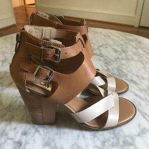 Dolce Vita Tan Heeled Sandals