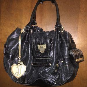 Black Juicy Couture Shoulder Handbag