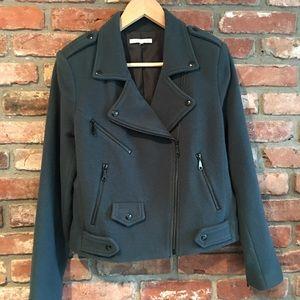 Rebecca Minkoff cotton, moto jacket - size S
