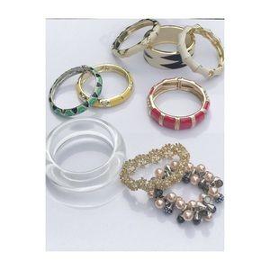 Assorted J.Crew and Talbots bracelets