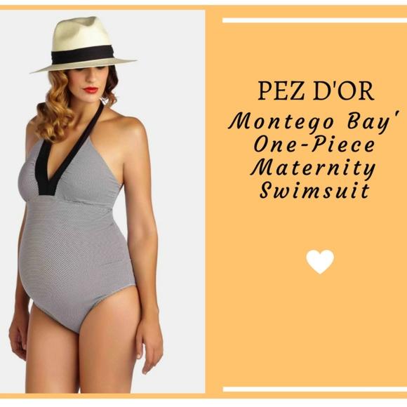 609e3faa7f662 PEZ D OR Montego Bay  One-Piece Maternity Swimsuit.  M 59c2a711981829e4eb017384