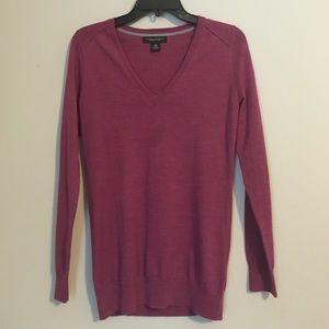 Merino Wool V-neck Super Soft Sweater
