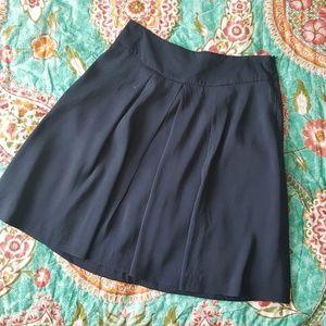 Sill Banana Republic Navy blue A Line skirt