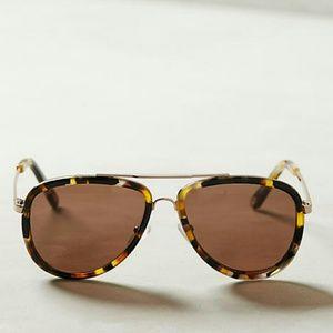 Anthropologie ett:twa Mattinee Aviator Sunglasses