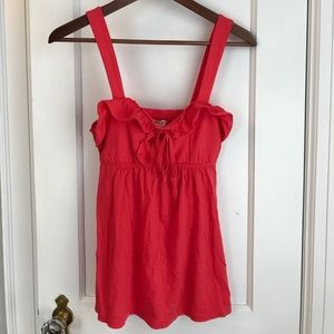 Pink hollister baby doll top